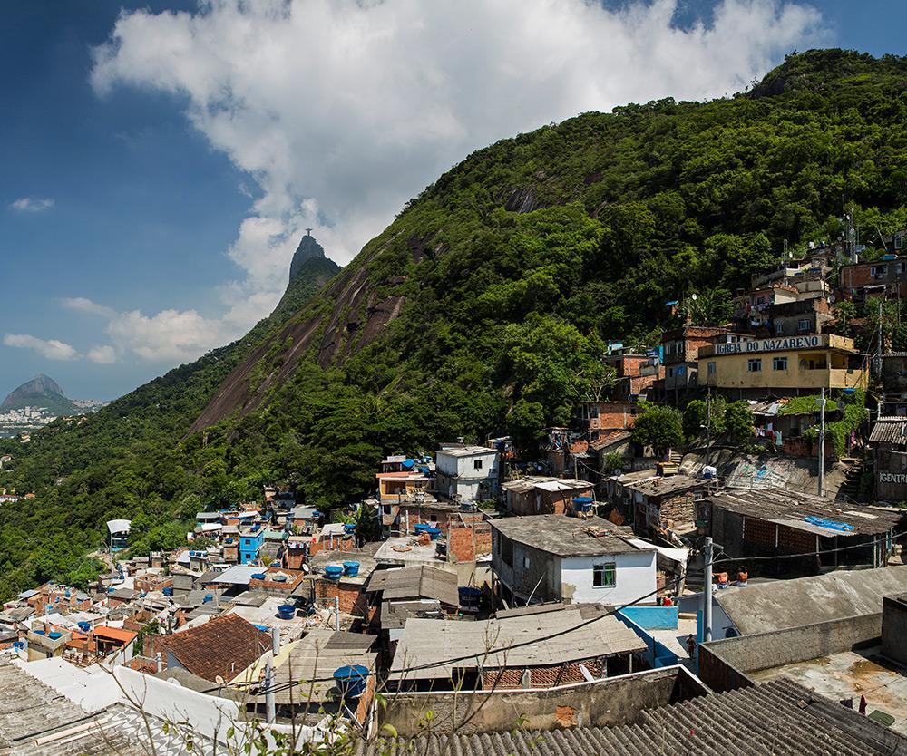 Going deep into a Rio Favela